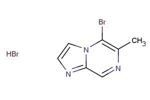 5-bromo-6-methylimidazo[1,2-a]pyrazine hydrobromide