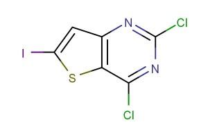 2,4-dichloro-6-iodothieno[3,2-d]pyrimidine
