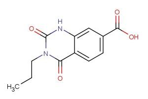 2,4-dioxo-3-propyl-1,2,3,4-tetrahydroquinazoline-7-carboxylic acid
