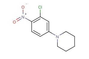 1-(3-chloro-4-nitrophenyl)piperidine
