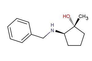 (1R,2R)-2-(benzylamino)-1-methylcyclopentan-1-ol