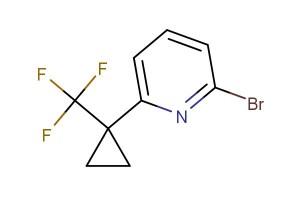 2-bromo-6-(1-(trifluoromethyl)cyclopropyl)pyridine