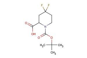 1-(tert-butoxycarbonyl)-4,4-difluoropiperidine-2-carboxylic acid