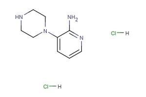 3-(piperazin-1-yl)pyridin-2-amine dihydrochloride
