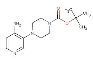 tert-butyl 4-(4-aminopyridin-3-yl)piperazine-1-carboxylate