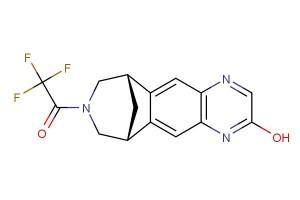 2,2,2-trifluoro-1-((6S,10R)-2-hydroxy-6,7,9,10-tetrahydro-8H-6,10-methanoazepino[4,5-g]quinoxalin-8-yl)ethan-1-one