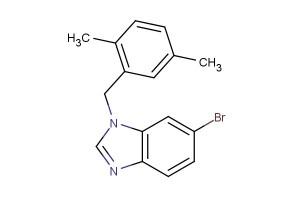6-bromo-1-(2,5-dimethylbenzyl)-1H-benzo[d]imidazole