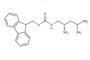 (9H-fluoren-9-yl)methyl (S)-(2-amino-4-methylpentyl)carbamate