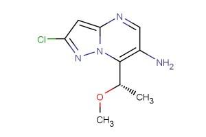 (S)-2-chloro-7-(1-methoxyethyl)pyrazolo[1,5-a]pyrimidin-6-amine