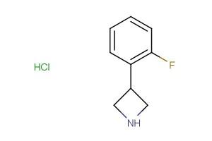 3-(2-fluorophenyl)azetidine hydrochloride