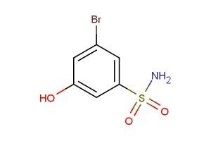 3-bromo-5-hydroxybenzenesulfonamide
