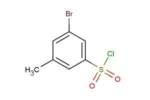3-bromo-5-methylbenzene-1-sulfonyl chloride