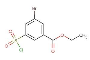 ethyl 3-bromo-5-(chlorosulfonyl)benzoate