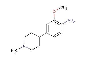 2-methoxy-4-(1-methylpiperidin-4-yl)aniline