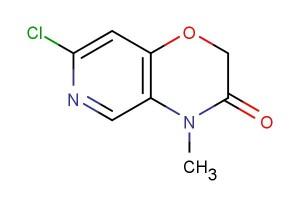 7-chloro-4-methyl-2H-pyrido[4,3-b][1,4]oxazin-3(4H)-one